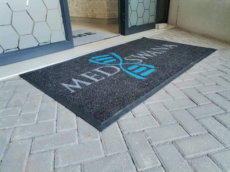beautiful door mat custom made